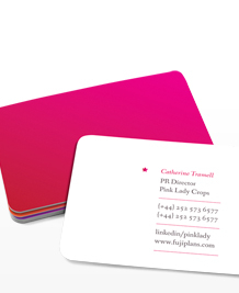 Preview image of Business Card design 'Pink Lady'