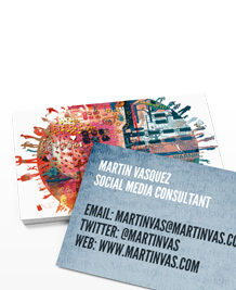 Preview image of Business Card design 'Chris Keegan Business Cards'