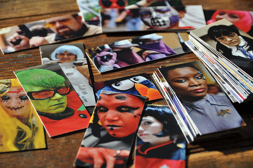 Cosplay photography moo cards