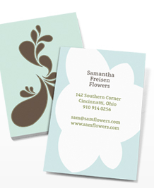 Business Card designs - Melissa Crowley