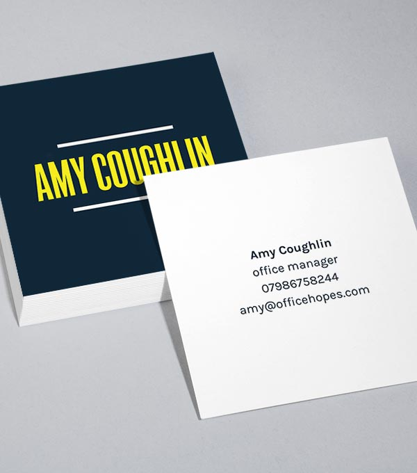 Square Business Card designs - Modern/Style