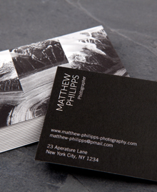 Preview image of Business Card design 'Triptych'