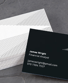 Business Card designs - Optical Illusions