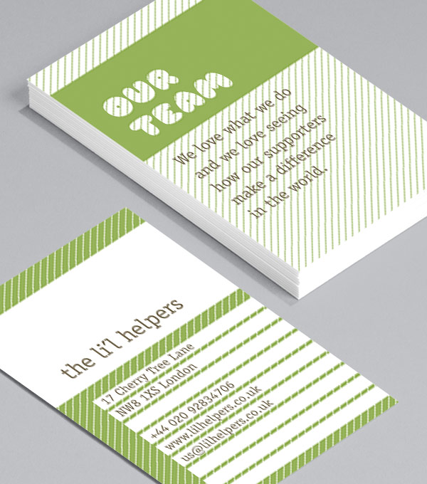 Business Card designs - Mission Statement