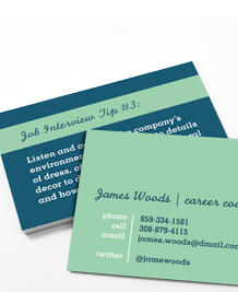 Preview image of Business Card design 'Dream Job'
