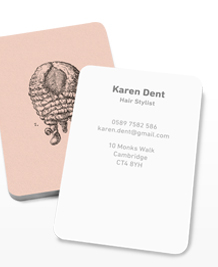 Preview image of Business Card design 'Wigging It'