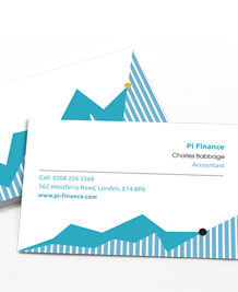 Stockists of Accounting Business Cards, 50 qty