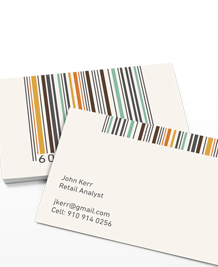Designs de Cartes de Visite - Barcodes in Colour