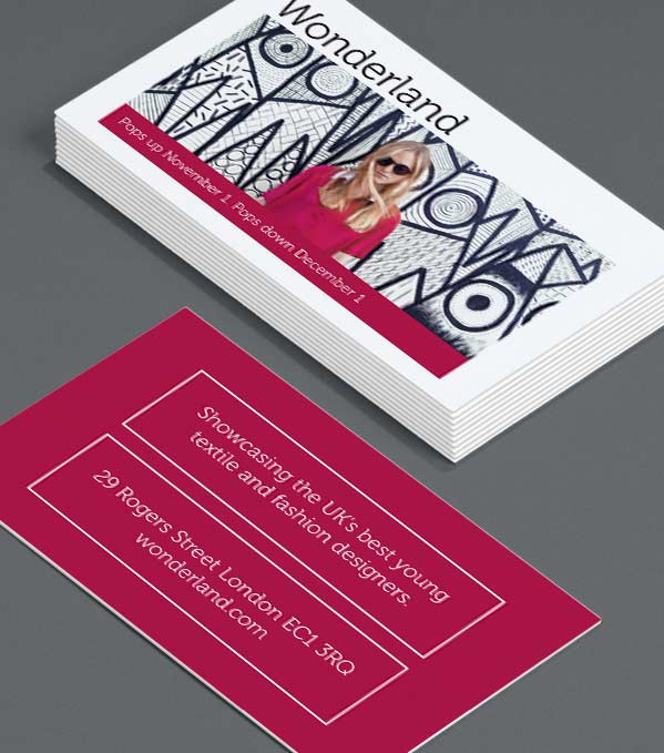 Business Card designs - Frame Fashion