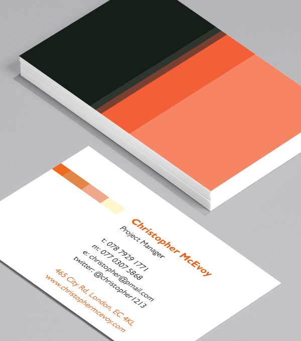 Business Card designs - Retro Active!