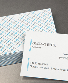 Preview image of Business Card design 'Gustave Eiffel'