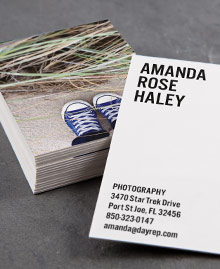Business Card designs - If the Shoe Fits