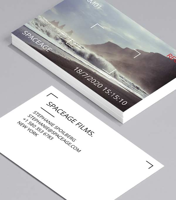 Business Card designs - Caught on Film