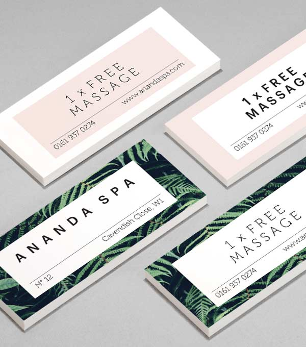 MiniCard designs - Spatial Bliss