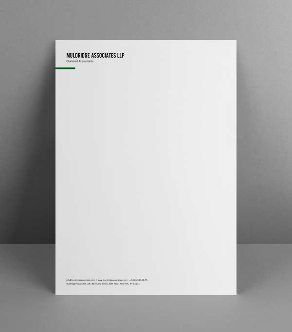 Customisable Letterheads Design Templates Moo Uk