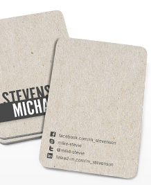 Preview image of Business Card design 'Talking texture'