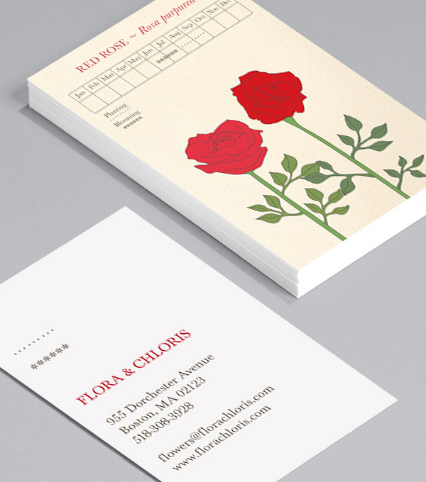 Business Card designs - Gorgeous Gardens