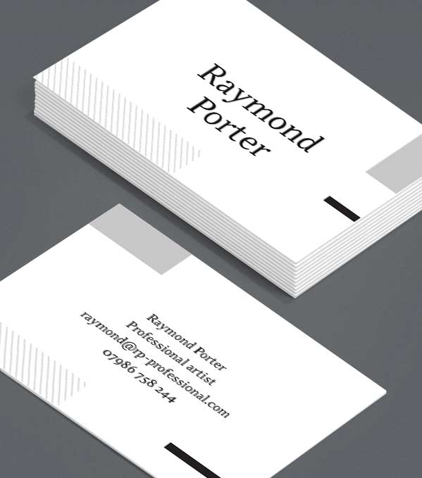 Business Card designs - Square Window