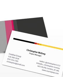 Business Card designs - City Slicker