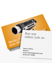 Preview image of Business Card design 'My other job is'