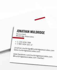 Business Card designs - Simplicity