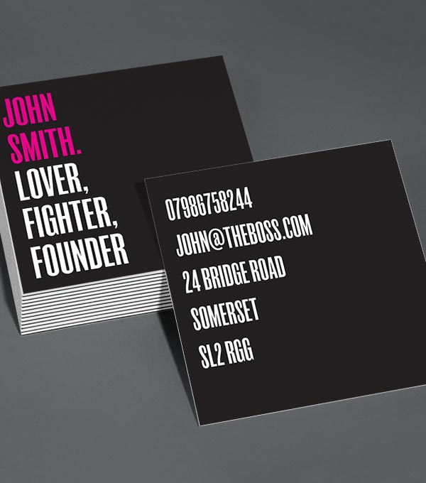 Browse square business card design templates moo united states square business card designs plainly fancy colourmoves