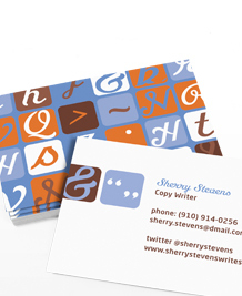 Business Card designs - Modern Retro