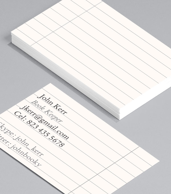 Business Card designs - I Love Spreadsheets
