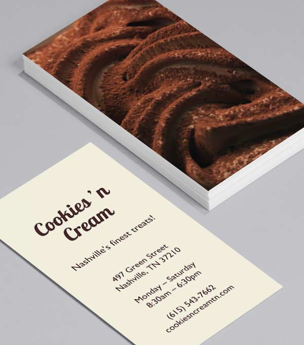 Business Card designs - Lick The Spoon