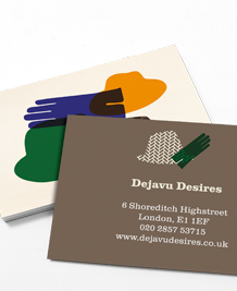 Preview image of Business Card design 'Hats off to you'