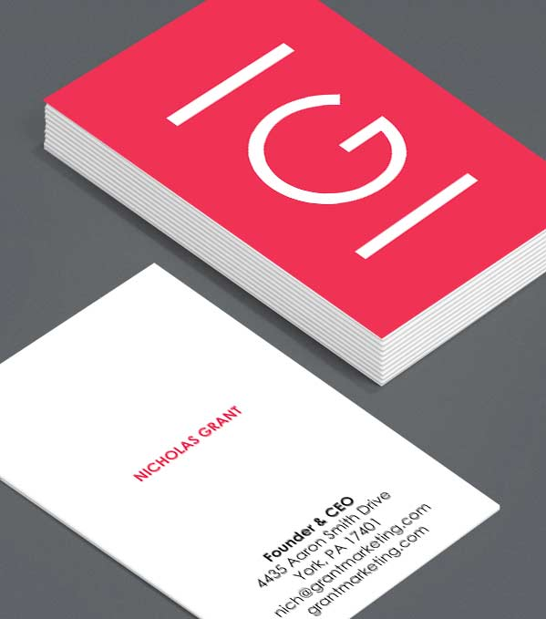 Business Card designs - Key Initial