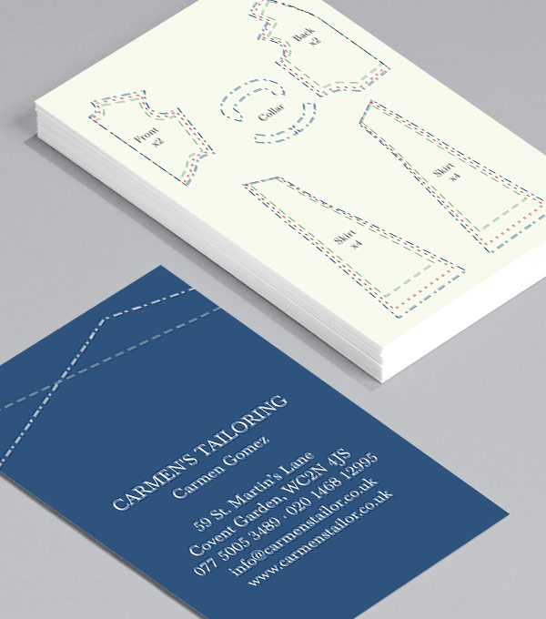 Business Card designs - Sew What?