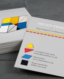 Preview image of Business Card design 'Here's looking at Euclid'