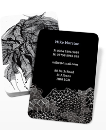 Preview image of Business Card design 'Black & White'