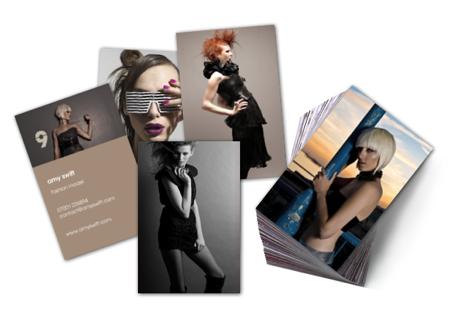 Moo unique custom business cards for models moo united states create a custom set of comp cards colourmoves
