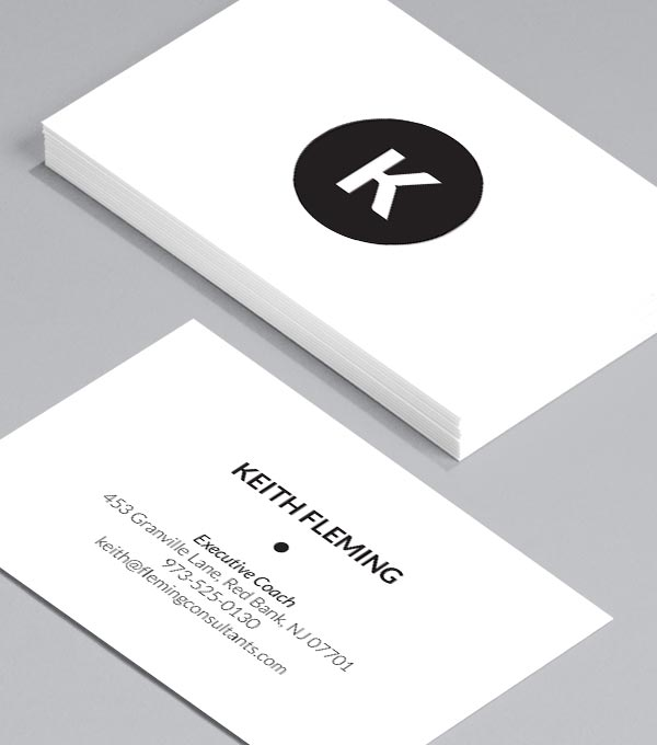 business card designs on target