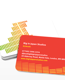 Preview image of Business Card design 'Big in Japan'