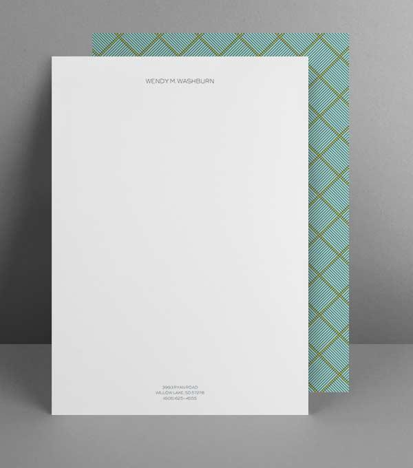 Anpassbare Briefpapier Designvorlagen Moo De