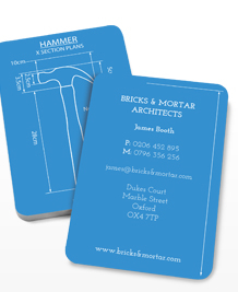 Preview image of Business Card design 'Tool Blueprints'