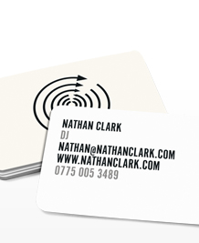 Preview image of Business Card design 'Back and forth'