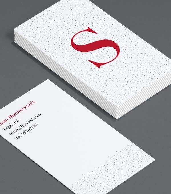 Luxury Business Cards Premium 32pt Business Cards