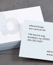 Preview image of Business Card design 'Edward Bopp'