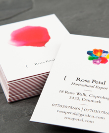 Preview image of Business Card design 'Petal Power'