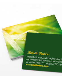 Preview image of Business Card design 'Going Green'