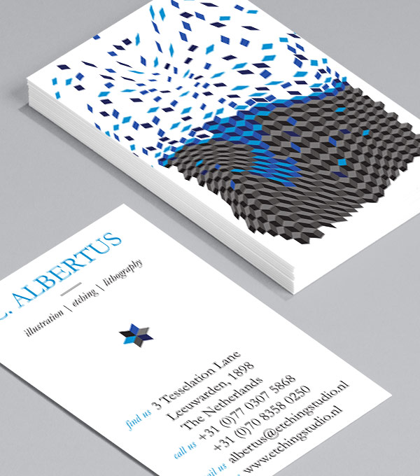 Designs de Cartes de Visite - Geometricks