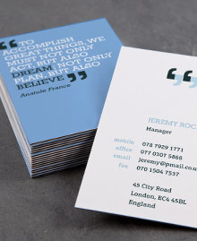 Business Card designs - You can quote me 2