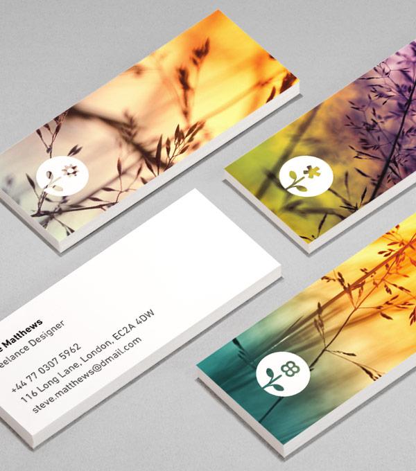 moo card design