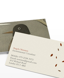 Preview image of Business Card design 'Natasha Newton'