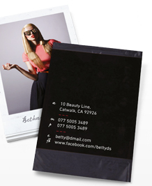 Business Card designs - Polaroid