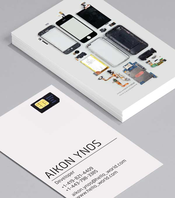 Business Card designs - Bits and Pieces